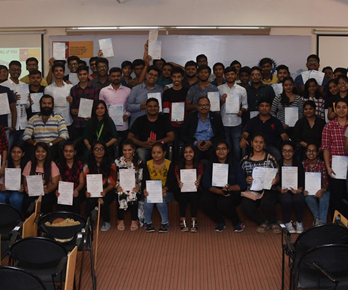 Vinod was invited to speak for Ganpat University Computer Students about Success Principles