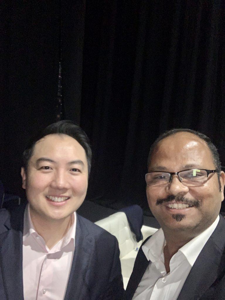 Vinod met with John Lee, Speaker, Co-founder & CEO of Wealth Dragons Group PLC
