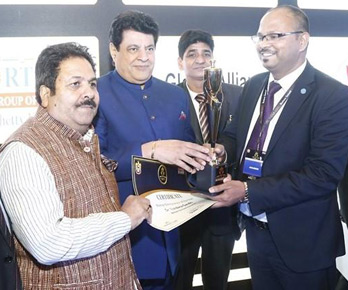Vinod seeking best wishes from Sri Rajeev Shukla and Sri Gajendra Chauhan
