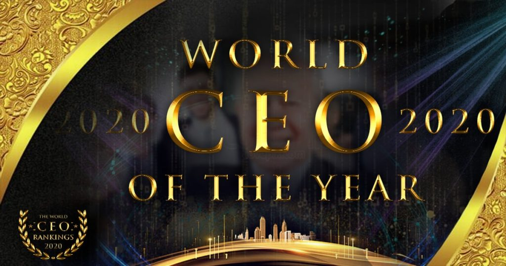 """Vinod was nominated for """"BEST CEO GLOBALLY"""" among 200+ Countries"""